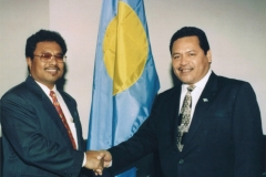 Ambassador Kyota and President Remengesau